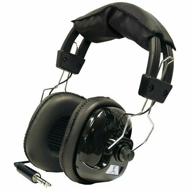 Bounty Hunter Metal Detector Binaural Headphone - Wired Conn
