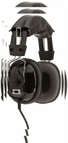 Bounty Hunter Metal Detector Binaural Headphone HEAD-PL, 8.4