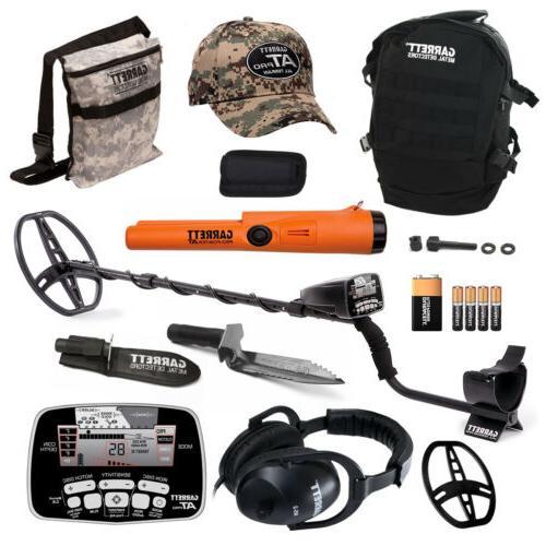 Garrett AT Pro Metal Detector Bonus Pack with ProPointer AT