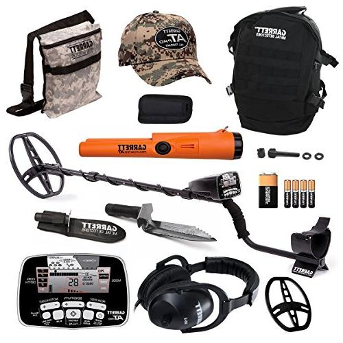 Garrett AT Pro Metal Detector Bonus Pack with ProPointer II