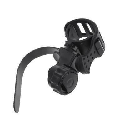 Metal Detecting Flashlight Holder Mount Clamp