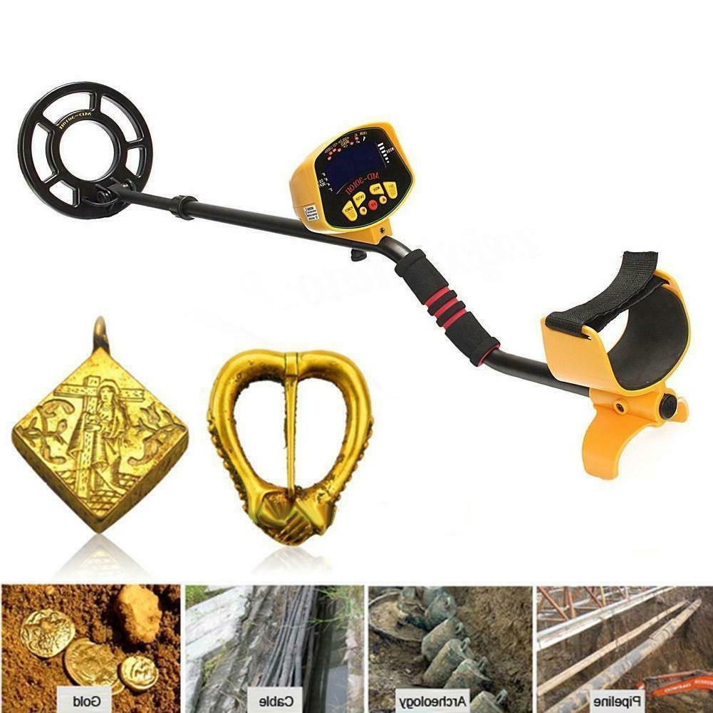 Metal Detector Gold Digger Finder Deep Hunter w/ Display TR