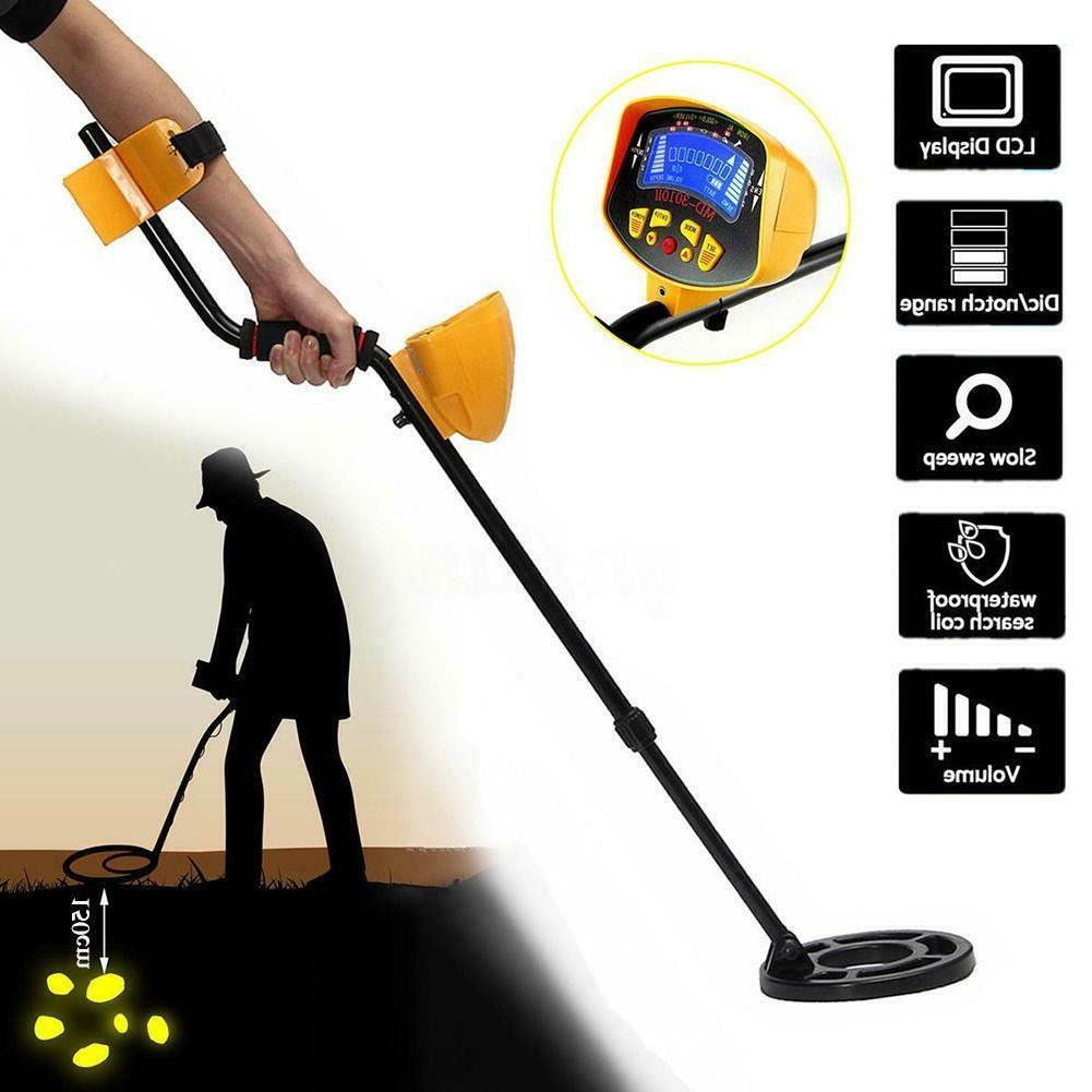 Metal Detector Gold Digger Finder Hunter Display TR
