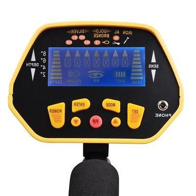 Metal Detector Digger Finder Deep Sensitive Hunter w/ LCD