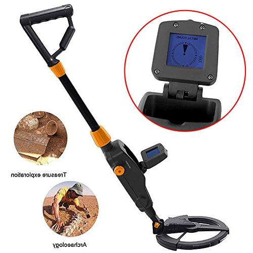High Metal Detectors Kids Adjustable LED Light Mode