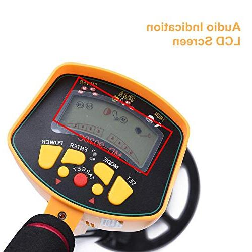 fosa Detector, 3-10ft Depth Hunters Golden Finder with Adjustable and LCD Display Water Detector