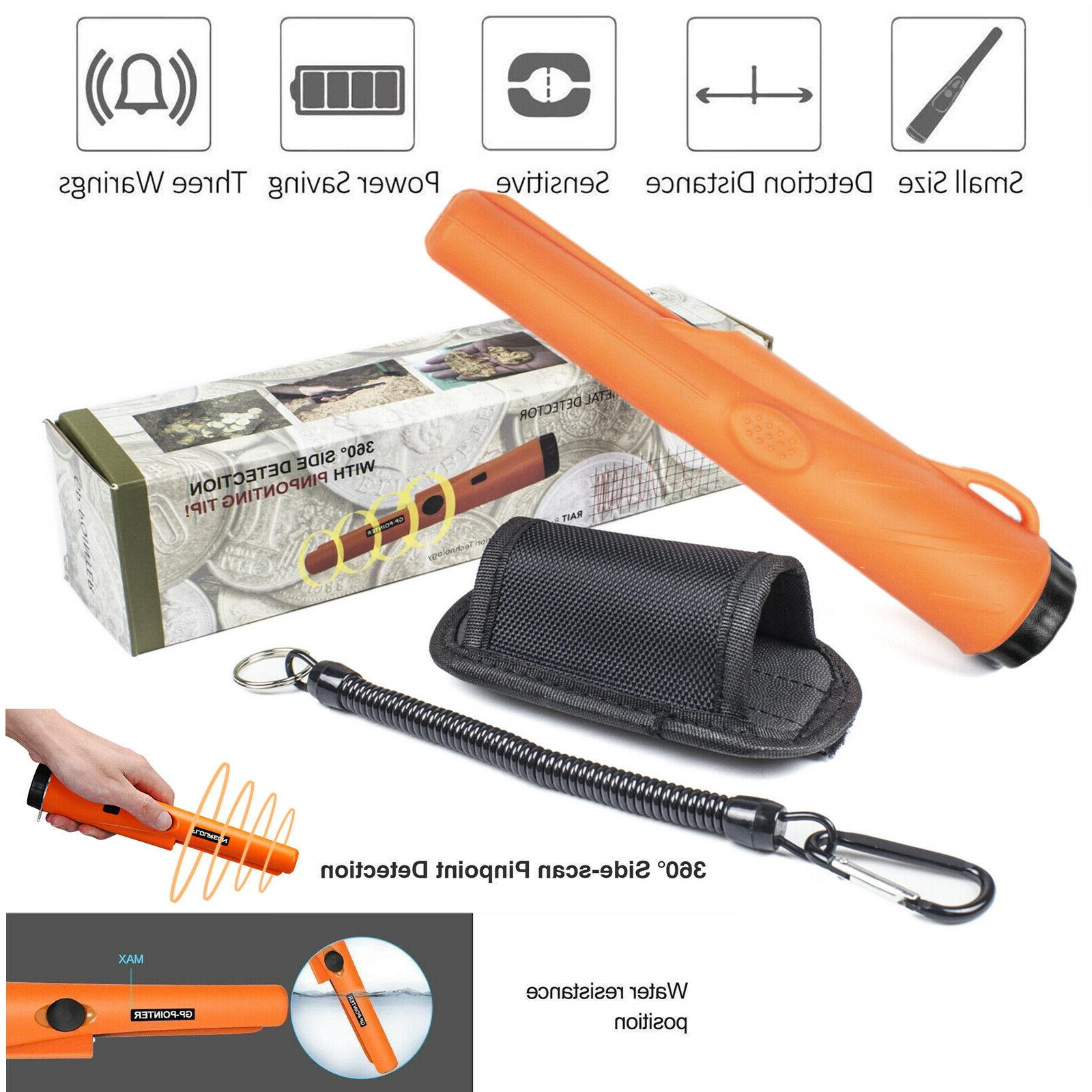 metal detector waterproof hand held automatic pinpointer