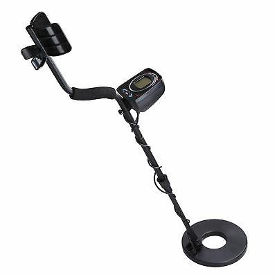 metal detector with lcd display led light