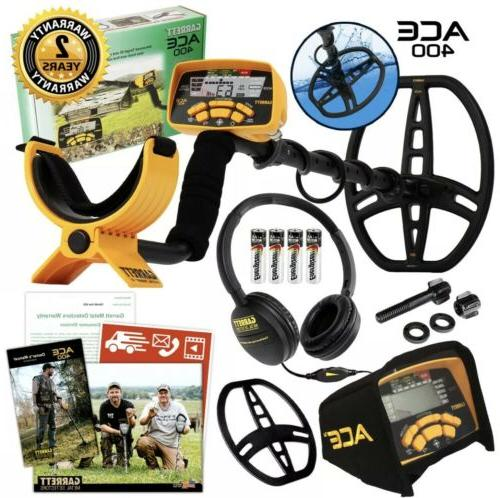 new ace 400 metal detector with iron