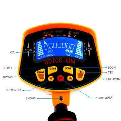 New MD-3010II Gold Digger Deep Light LCD Display