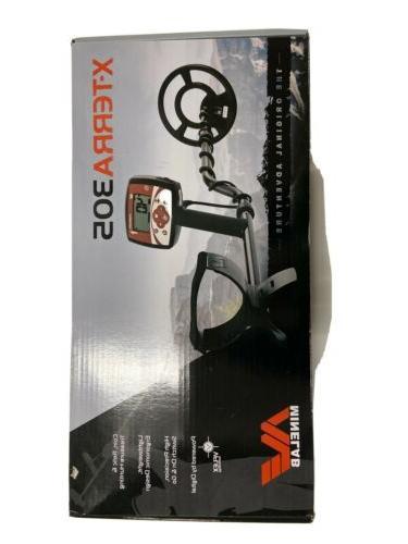 new x terra 305 metal detector 3704