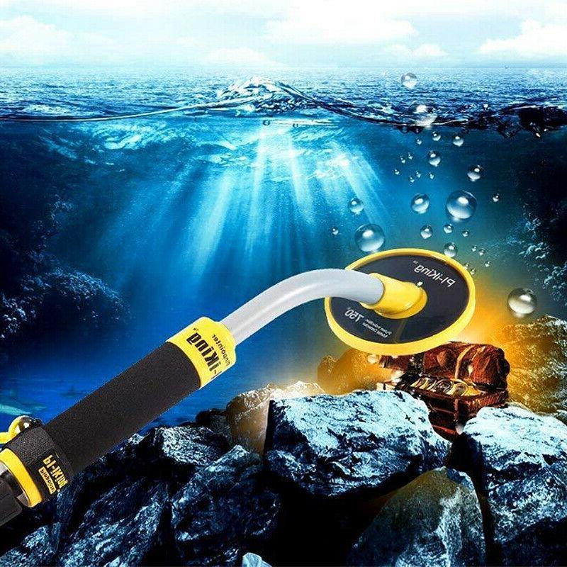 Waterproof Metal Detector 30M Underwater Pinpointer Gold Hun
