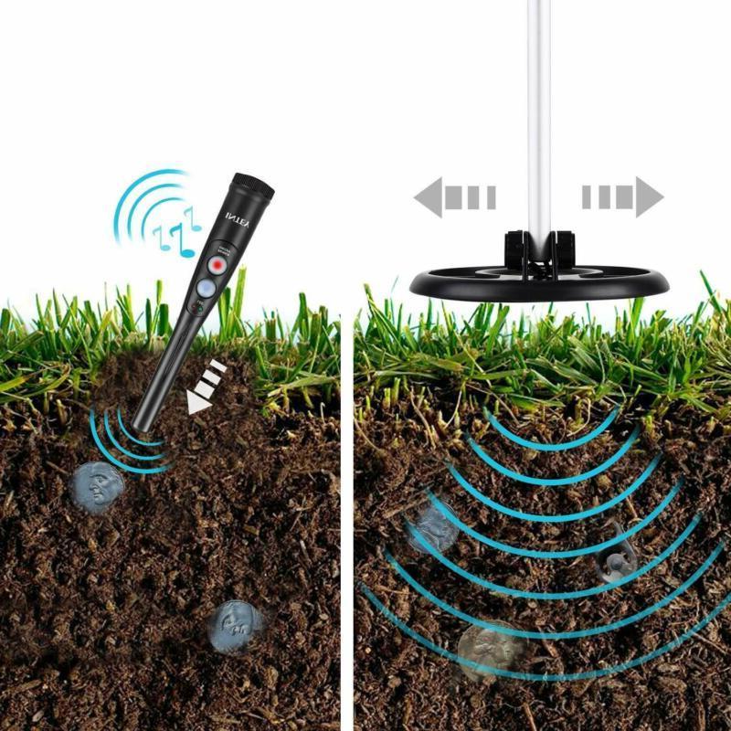 INTEY Metal Detector IP65 Waterproof Metal Detec