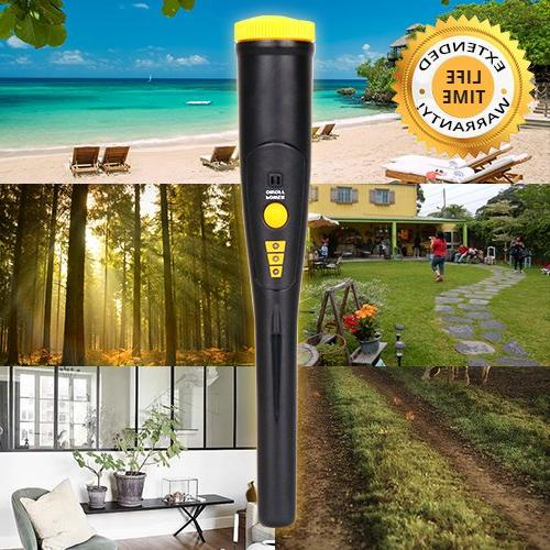 Pinpointer Probe Waterproof Detector with High One-button with & Buzzer Vibration, with