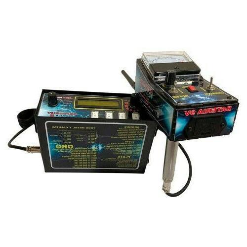 plus 2 professional prospecting geolocator metal detector