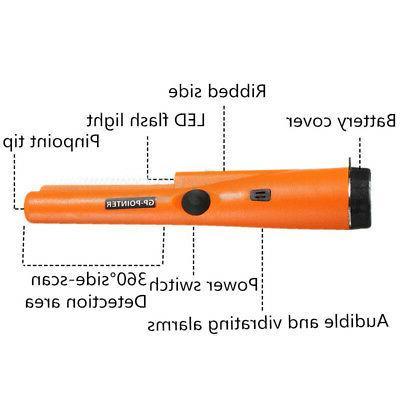 Pro Handheld Metal Detector Pinpointer Belt Pro-Pointer Waterproof