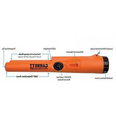 Garrett Pro Pointer Pin Battery/Belt Holder/2year