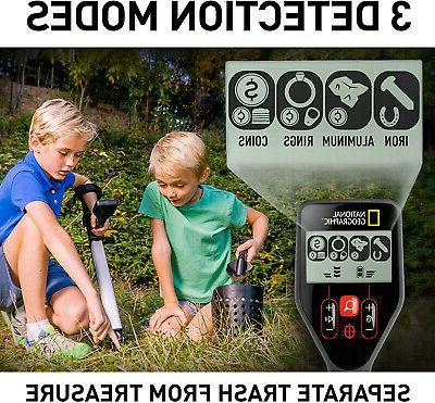 NATIONAL GEOGRAPHIC PRO Series Metal Detector - Treasure Hunter