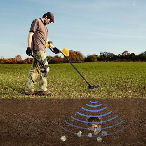 LCD Detector Gold Digger Hunter Search Waterproof