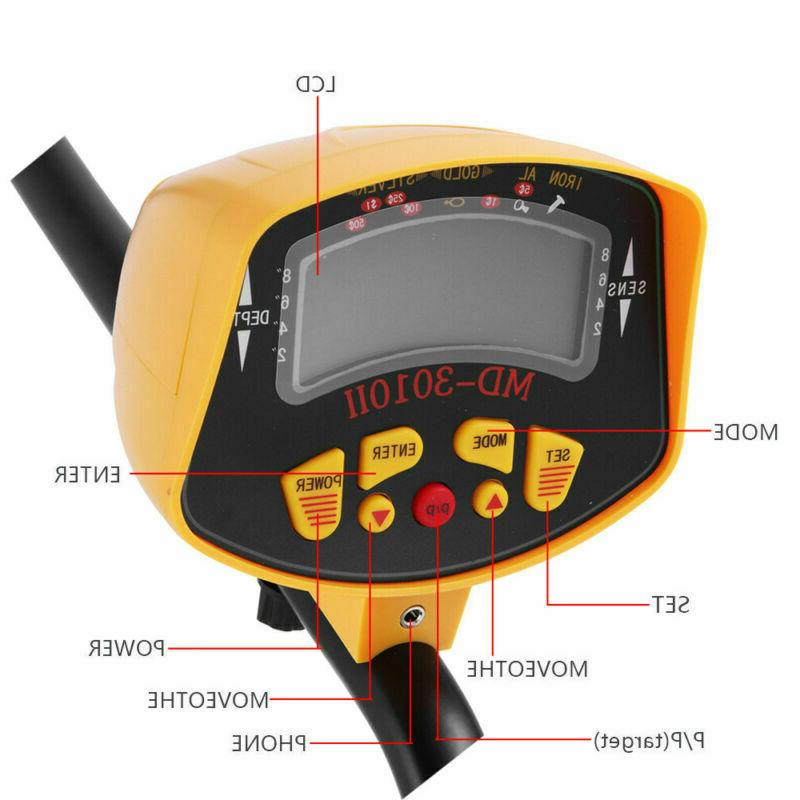 MD-3010II Detector Digger Hunter Deep Search Waterproof