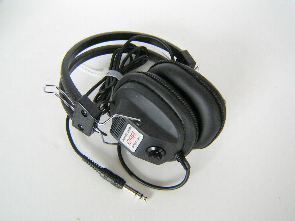 Minelab RPG Metal Detector Headphones Dual Volume Control 1/