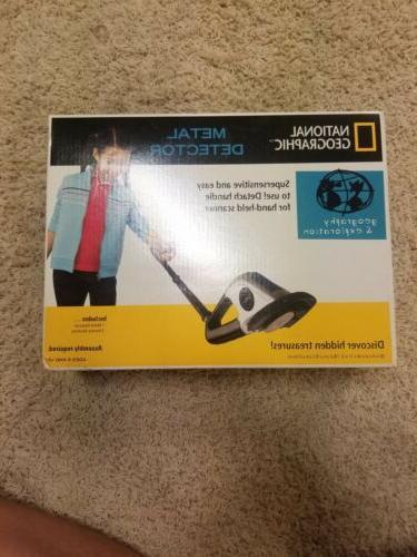 series metal detector kids new in box