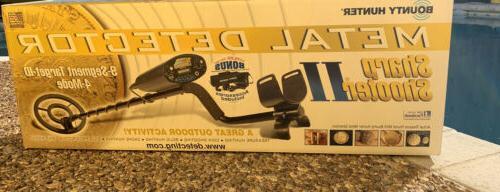 Bounty Hunter Sharp Shooter II Metal Detector Kit