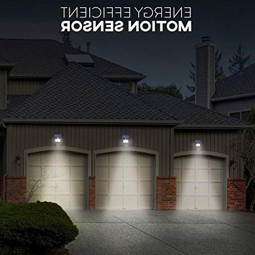 Solar Sensor Light 20 Flood Lights Security, Garden, Dusk to Dawn Lighting