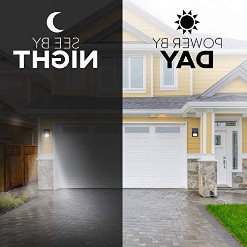 Solar Sensor Light 20 Security, Wall, Pathway, Garden, Dusk