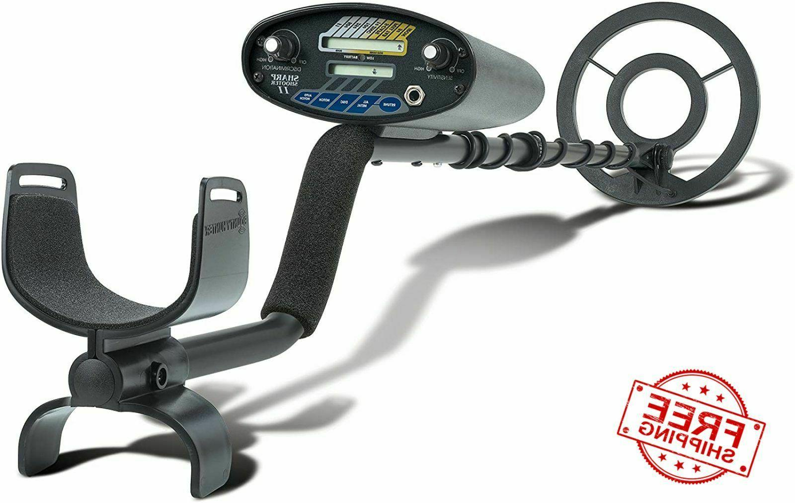 Bounty Hunter SS2 Sharpshooter II Metal Detector Treasure Fi