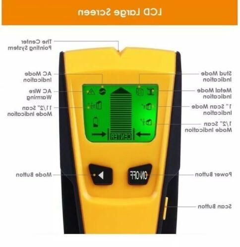 INTEY Stud Detector-3 Modes AC Stud and Metal