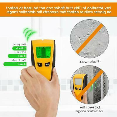 INTEY Stud Detector 3 in Mode for AC Wire and Scan