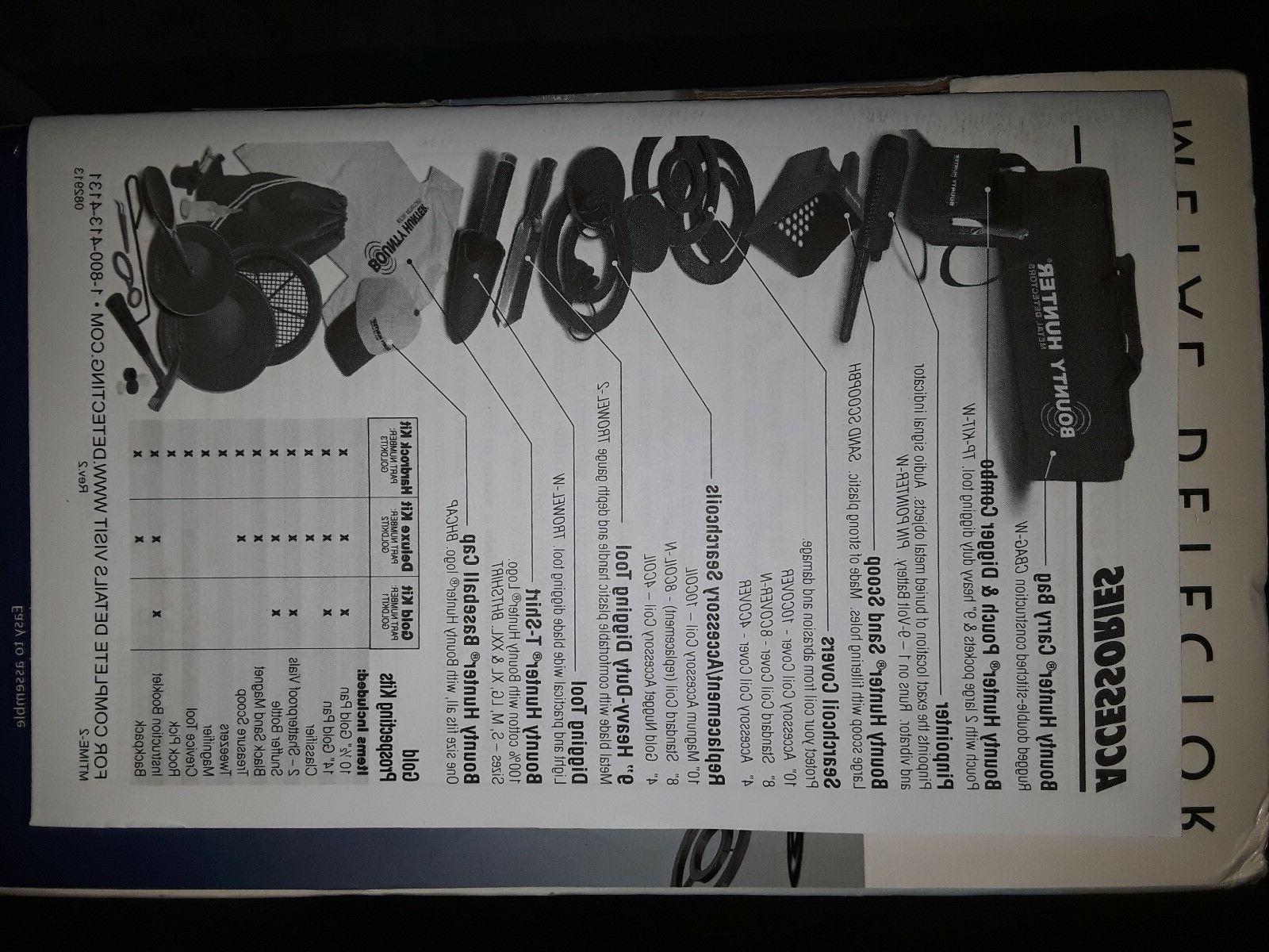 Bounty Hunter TIMERANGER Ranger Detector !!!