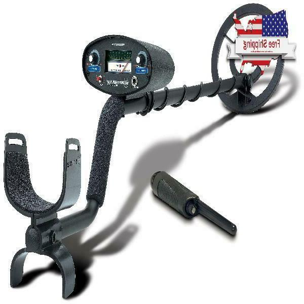 Bounty Hunter Tracker Iv Metal Detector With Bonus Pinpointe