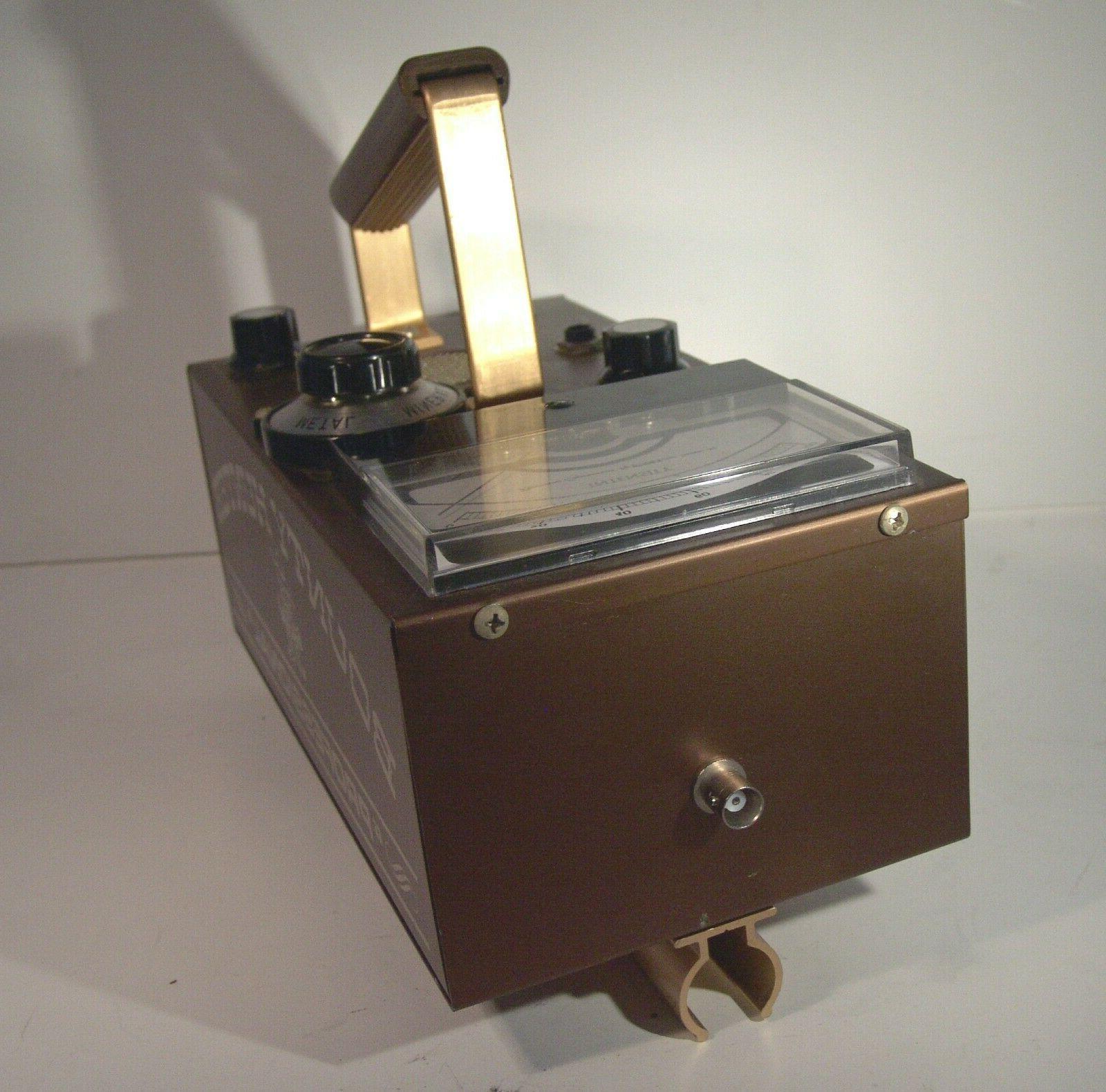 "Vintage Professional Metal Detector ""NEW"" Never READ"