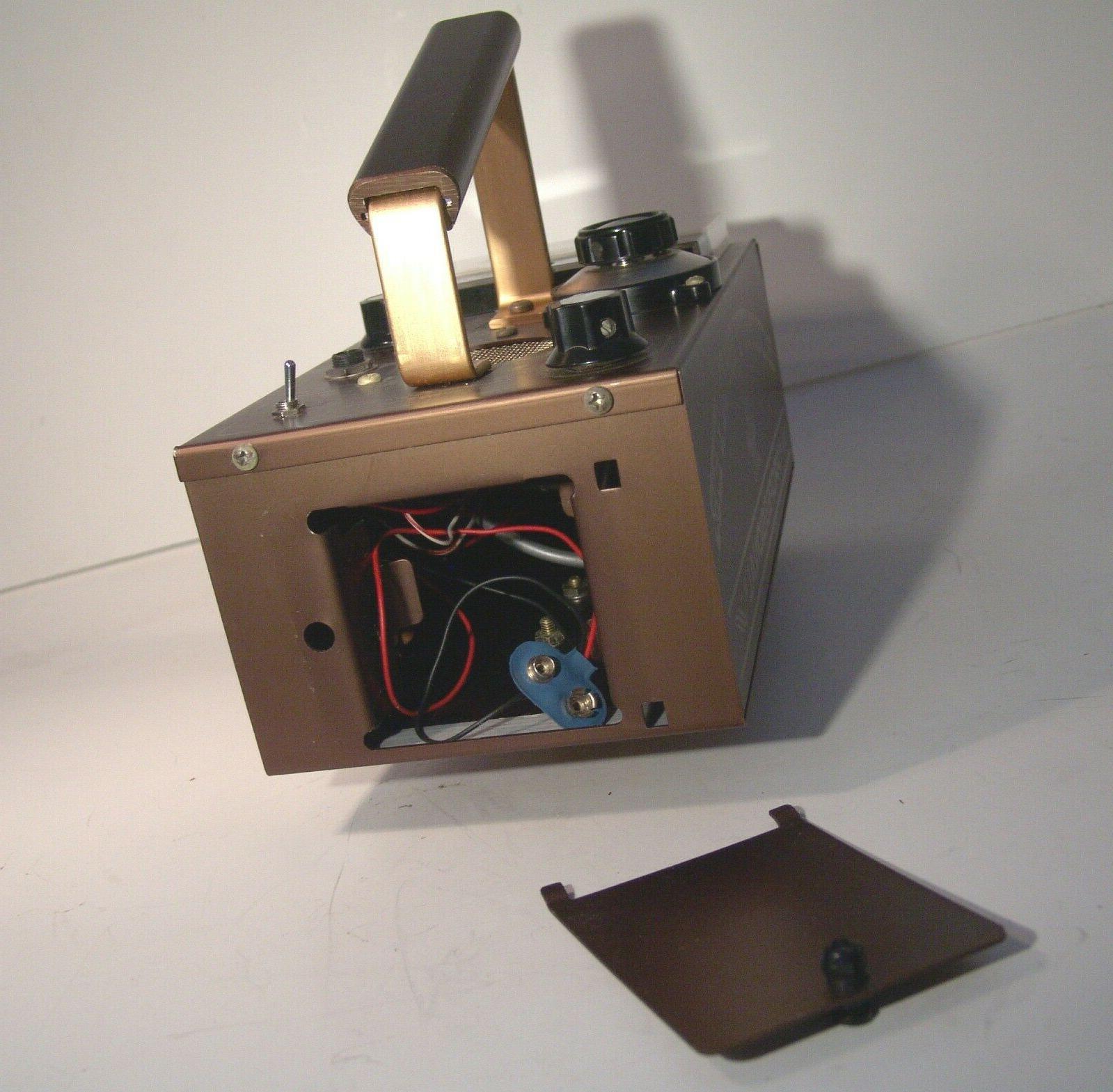"Vintage Metal Detector ""NEW"" Never"
