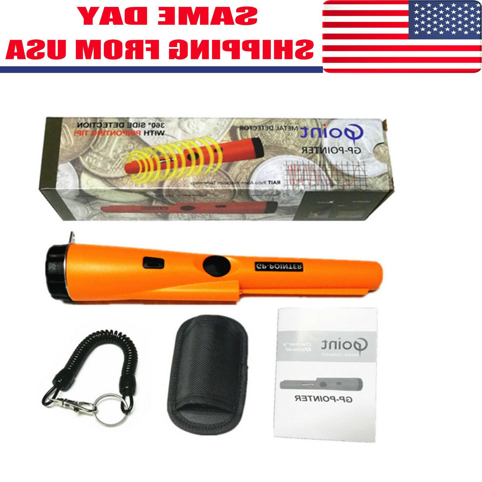 waterproof metal detector pro pinpointer gold hunter
