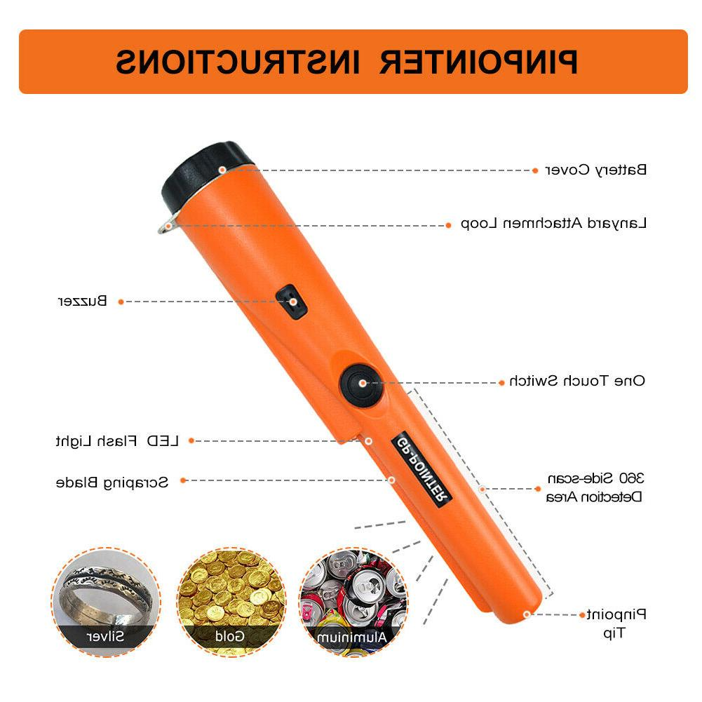 Waterproof Metal Pinpointer GP-Pointer Sensitive Gold