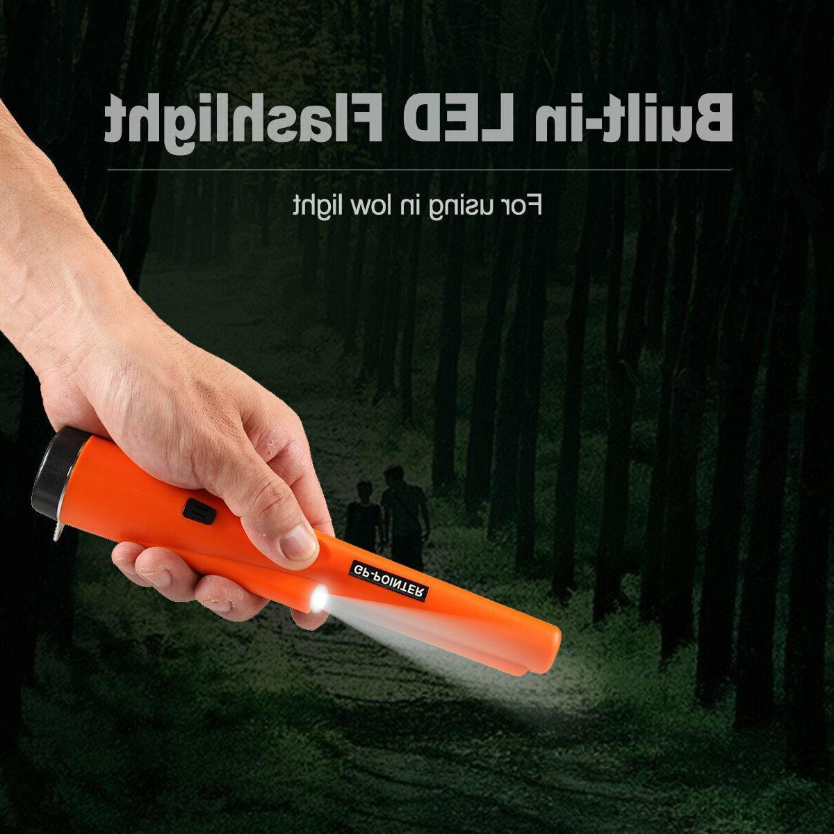 Waterproof Metal Pinpointer Hunter Finder