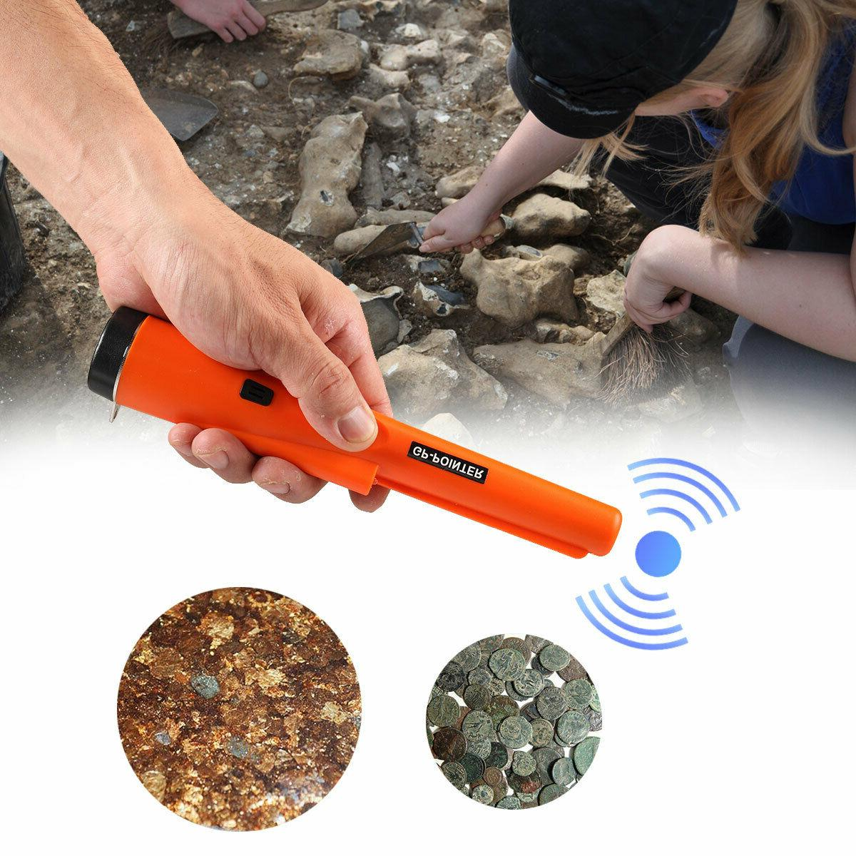 waterproof metal detector pro pinpointer sensitive search