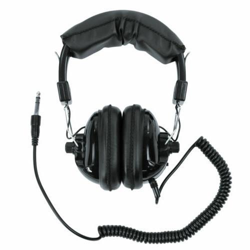 whites 1 4 plug metal detector headphones