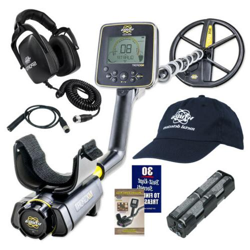 """Whites MX Sport Waterproof Metal Detector with 10"""" DD Coil,"""