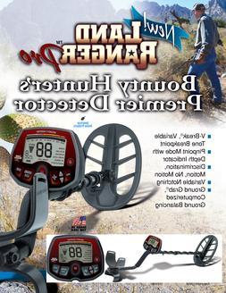 Bounty Hunter LAND RANGER PRO Premier NEW Metal Detector Wit