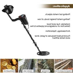 LCD Metal Detector Gold Digger Hunter Deep Sensitive Waterpr