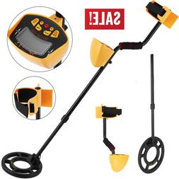 LCD Metal Detector Gold Digger Hunter Underground Search Wat