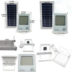 100 LED 3-Level Street Solar Power Light Outdoor Waterproof