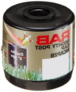 """RAB Lighting MCAP2B Mighty Post Cap for 2"""" Pipe, 2-3/8"""" OD x"""