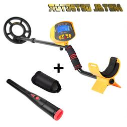 MD-3010II Metal Detector Gold Digger Hunter Deep Sensitive S
