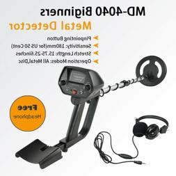 MD-4040 Waterproof Metal Detector Deep Sensitive Gold Digger