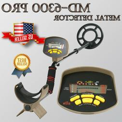MD-6300 Professional Metal Detector Underground Gold Searchi